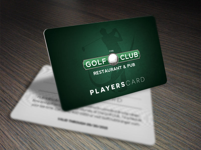 Golf Club Playerscard