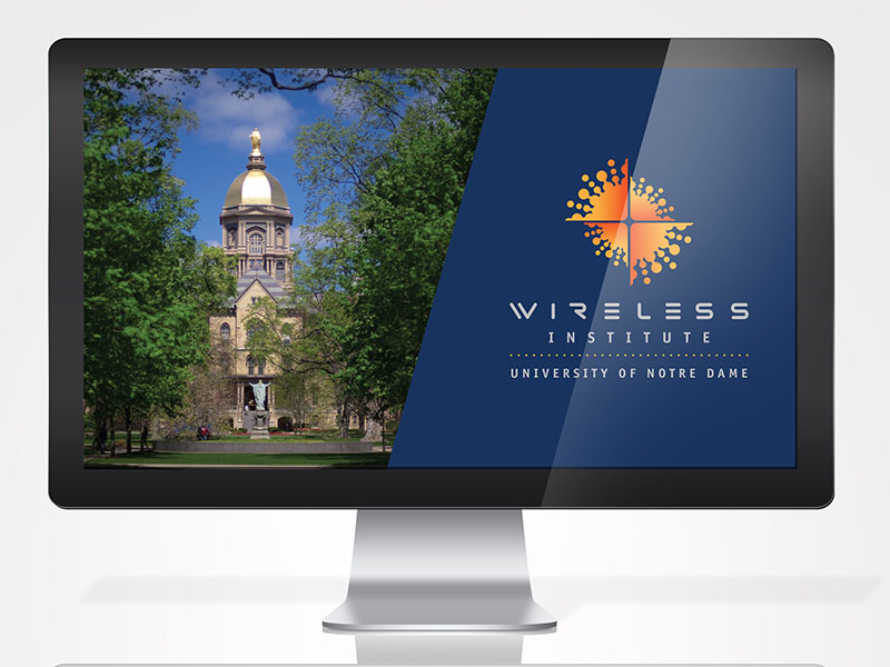Notre Dame Wireless Institute Powerpoint Presentation
